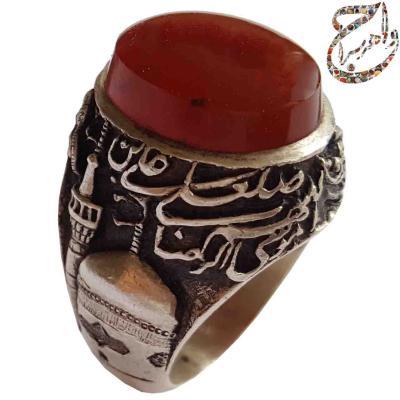 قلمزنی حرم امام رضا (ع) توسط محسن جنگی