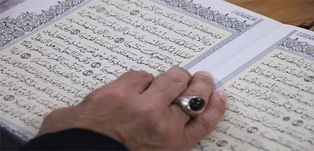 با حکاکی آیات قرآن آشنا شوید . چه ذکری برای حکاکی مناسب تر است ؟ (2)